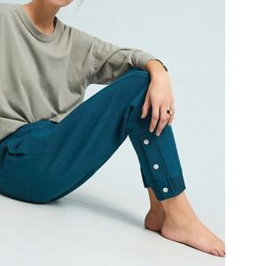 Anthropologie Terry Cropped Joggers